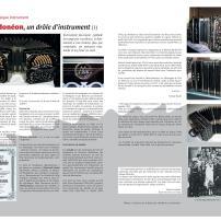 Article sur le bandonéonArticle sur le bandonéon (1) paru dans la revue Tout Tango n° 9 Octobre-Novembre-Décembre 2006