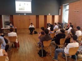 CONFERENCE - Fernando Maguna joue pendant la conférence consacrée à Anibal Troilo à Tangopostale Toulouse, juillet 2014