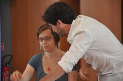 CONFERENCE - sur Anibal Troilo, avec le bandonéoniste Fernando Maguna en juillet 2014 ©Bernard-Yves Cochain
