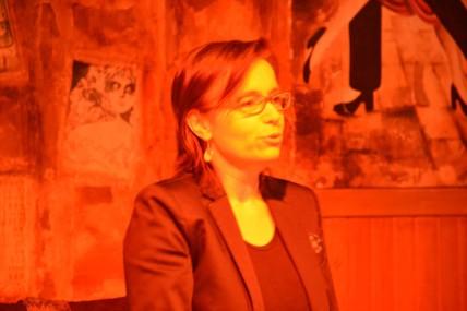LECTURE - Lors de la présentation de la seconde lecture du Sud sur des textes de Julio Cortázar à Tangueando Toulouse le 13 février 2016 © Julio Navarro