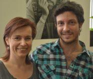 Solange Bazely et le Fileteador Gustavo Ferrari - 6 juillet 2016, Tangopostale, Toulouse © Julio Navarro