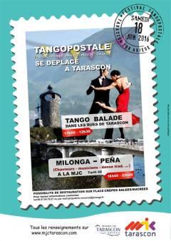 Affiche Milonga-Peña du 18 Juin 2016 à Tarascon/Ariège