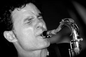 Le saxophoniste argentin Blas Rivera