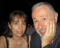 avec le pianiste et compositeur Gustavo Beytelmann au Torquato Tasso à Buenos Aires, 2009