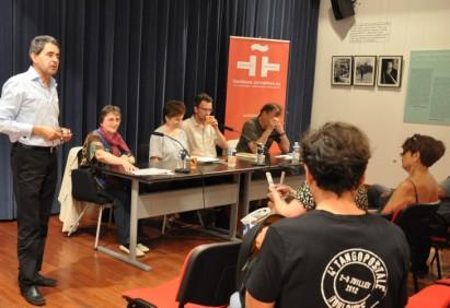 CONSEIL - Rencontre littéraire avec Françoise Thanas, Mathias Debreyne et Nestor Ponce, à l'Institut Cervantès de Toulouse, Tangopostale 2012