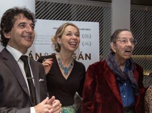 César Salgán, Caroline Neal et Horacio Salgán