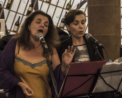 CHANT - Concert de fin de stage avec Sylvie Bibron et Solange Bazely à Albi, 2014