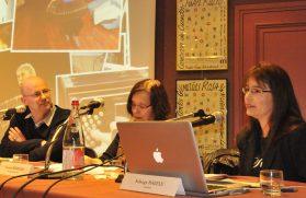 Conférence sur le bandonéon à la Maison de l'Amérique Latine, Paris 2010 en présence de Carmen Bernand, historienne et Esteban Buch, directeur de l'EHESS