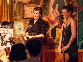 Lecture musicale - Final avec Solange Bazely et Solenne Burgelin le 25 juin 2016 à Tangueando Toulouse - © Frédéric Leme