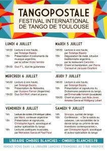 programme CaféTango 2016