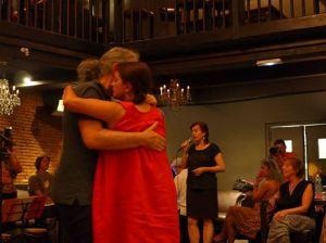 Duo Sol-Wolf lors de la peña de Tangopostale, Juillet 2016 @ Serge Davy