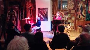 Lecture les tangos en bal - Vendredi 3 mars 2017 - Tangueando Toulouse c Photo Martine Cazenave