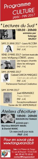 Lectures du Sud 2016-2017 verso 2eme