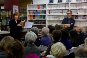 Première Nuit de la Lecture, 14 janvier 2017, Librairie L'autre Rive, Toulouse Photo Catherine Ulmet