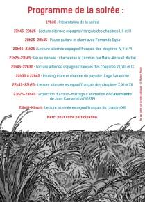 Verso du flyer deuxième version