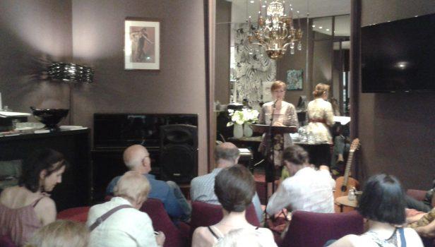 Lecture Les poètes du tango d'aujourd'hui, Mai 2017, Hôtel de France à Nantes © Sylvie Roba