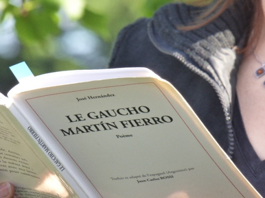 Lecture du Martín Fierro - Ramonville 20 mai 2017 © Catherine Boutillier