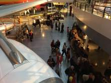Expoésie à Aeroscopia lors de la soirée d'ouverture de la 9ème édition du Festival Tangopostale © Guyon de Chemilly