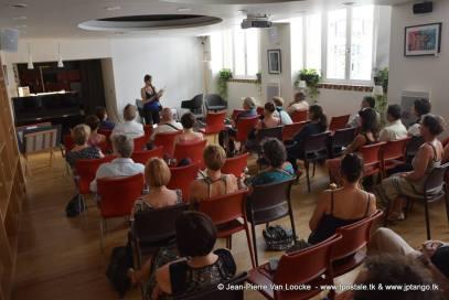 Les danseurs de Tango dans les romans - le 4 Juillet 2017 © Jean-Pierre Van Loocke
