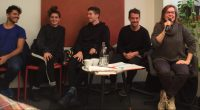 Rencontre avec les danseurs argentins de EL BAILE à la Librairie Ombres Blanches, Fév. 2018, Toulouse