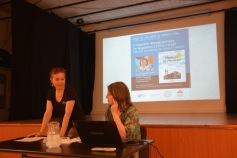 Marina Cañardo présente son livre Fábricas de Músicas à l'Institut Cervantès le 31 mai 2018 © Julio Navarro