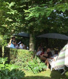 Lecture privée, à domicile, près de Toulouse, Juin 2018