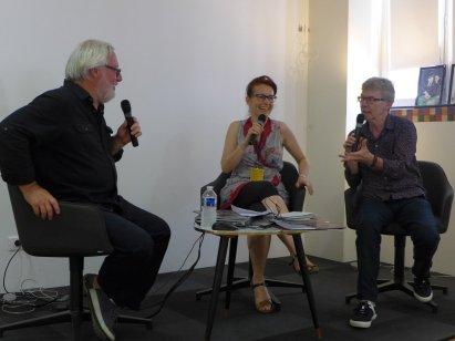 Table ronde autour de la revue La Salida - Tangopostale 2019 - Ombres Blanches