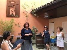 Dans la maison natale de Carlos Gardel avec Sabine Cabanis © Eva Claus