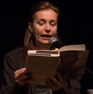 Solange Bazely lit Immersion dans le monde d'une tanguera novembre 2018 MJC du Pont des Demoiselles, Toulouse © Céline Lajeunie